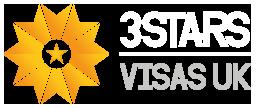 3 Stars Visas uk Logo